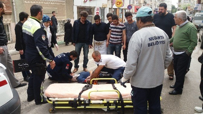 Yaralanan Gencin İmdadına Vatandaşlar Koştu