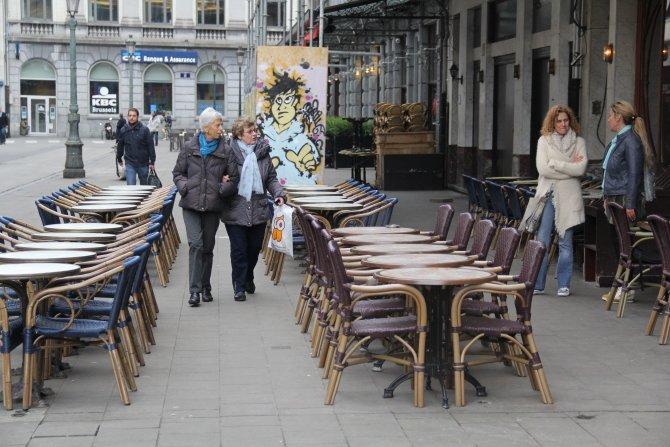 Terör saldırılarının ardından Brüksel turizmi dibe vurdu