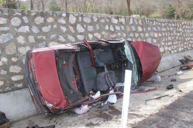 Osmancık'ta Trafik Kazası: 1 Ölü, 2 Yaralı