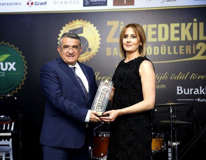 Mersin GİAD Kadınlar Kurulu'na Proje Ödülü