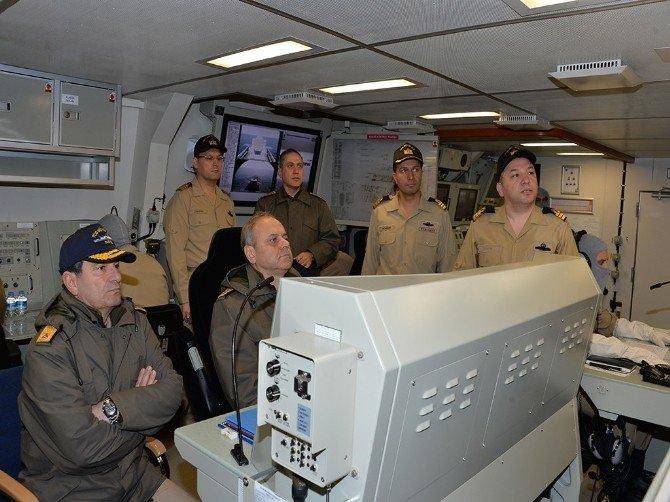 Türk Donanması Marmara, Karadeniz Ve Doğu Akdeniz'deki Tatbikatlarda Göz Doldurdu