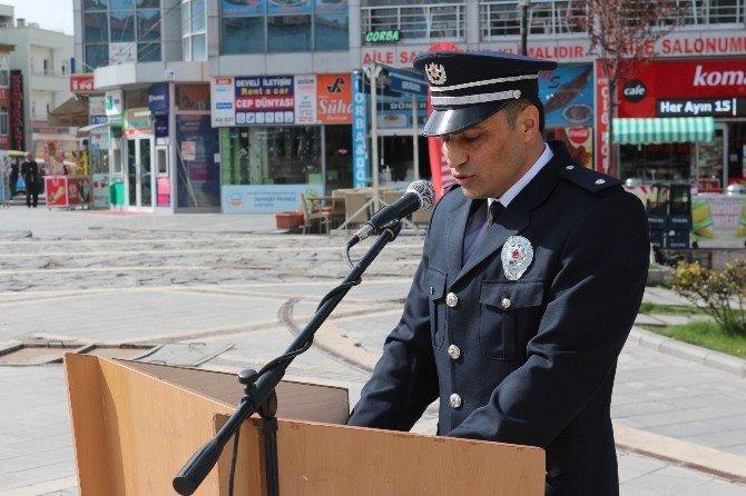Develi'de Polis Haftası Kutlaması Yapıldı,