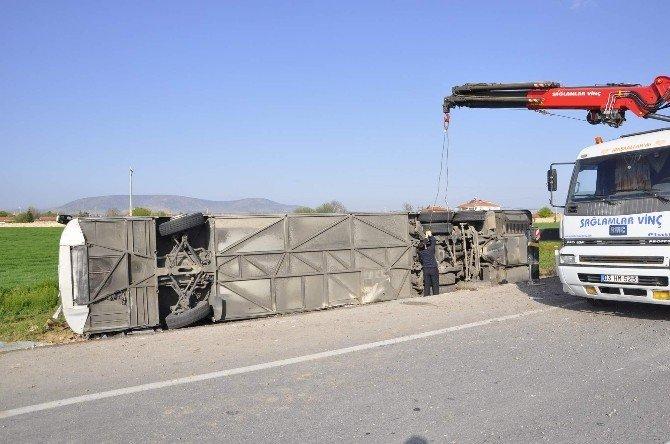 Afyonkarahisar'daki Otobüs Kazası