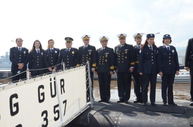 Donanma Komutanlığı'ndan Polis Haftasına Özel Faaliyet