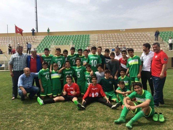 DSİ U-14 Futbol Takımı Antalya İl Şampiyonu Oldu