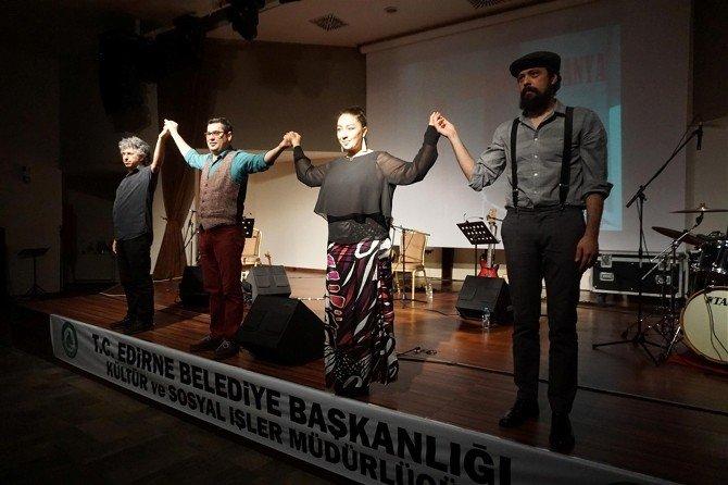 Enver Aysever'le Aykırı Kumpanya Edirnelilerle Buluştu