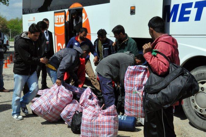 Edirne'de iade edilen sığınmacı sayısı bine ulaştı