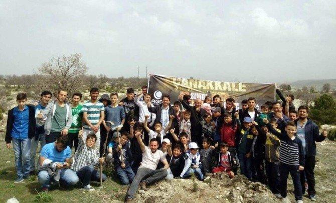 Anadolu Gençlik Derneği'nden 'Her Şehide Bir Fidan, Her Fidana Bir Genç' Programı