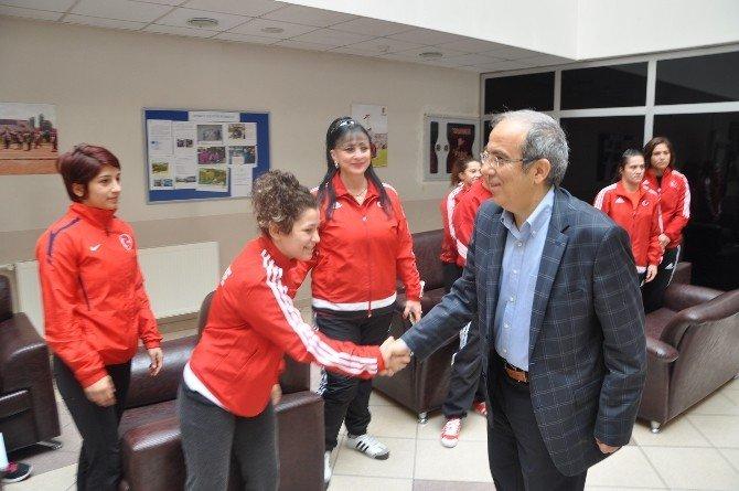 Kocakaya Ve Aydın'dan Edirne TOHM'ye Ziyaret