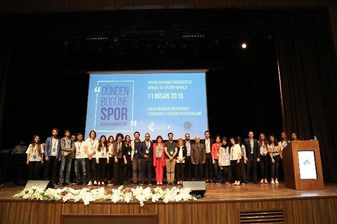 HKÜ'de Dünden Bugüne Spor Fizyoterapistliği Sempozyumu