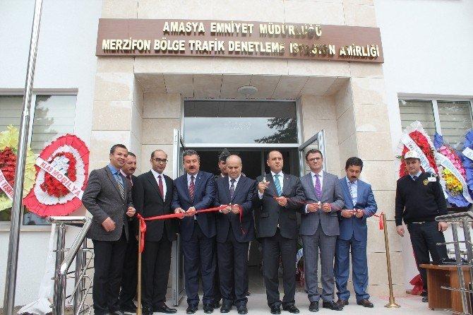 Merzifon'a Yeni Bölge Trafik İstasyonu