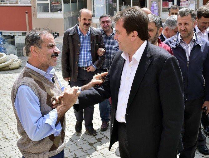 Başkan Erkoç'tan Ilıca'da İnceleme