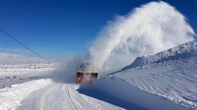 2 Bin 640 Rakımlı Ovit Dağı Ulaşıma Açıldı