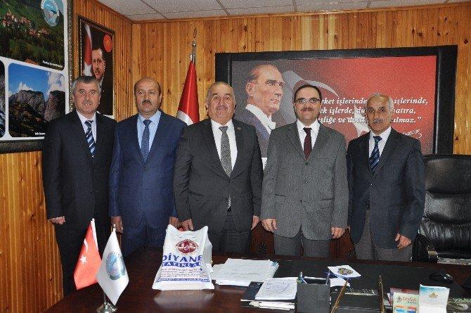 Pınarbaşı'nda Kutlu Doğum Haftası Münasebetiyle Protokol Ziyaretleri Yapıldı