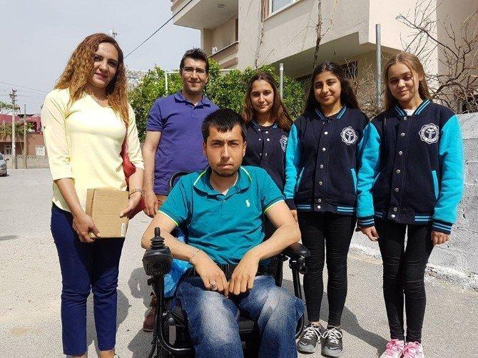 Engelli Ersin Akülü Aracına Kavuştu