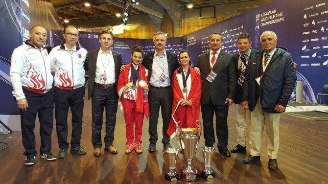 Sibel Özkan Konak, Avrupa Halter Şampiyonu