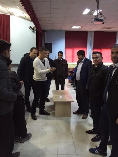 Özalp İlçesinde Futbol Turnuvası