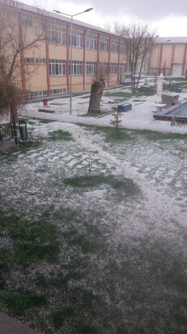 Eskişehir'e Kış Geri Mi Geldi