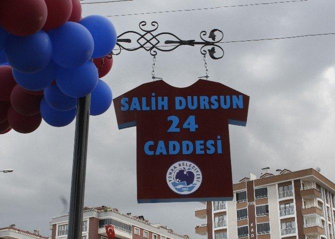 Salih Dursun Caddesi Açıldı