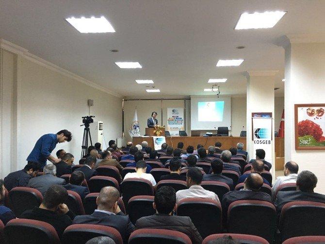 Siirt TSO'da KOBİ Gelişim Destek Programı Tanıtıldı