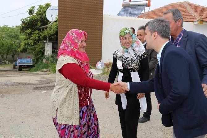 Başkan Şirin Sinirli'de Kutlu Doğum Hayrına Katıldı