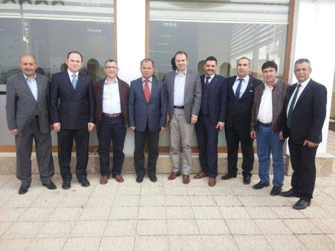 Başkan Vatansever'den Eskişehir Türkav Şubesine Ziyaret