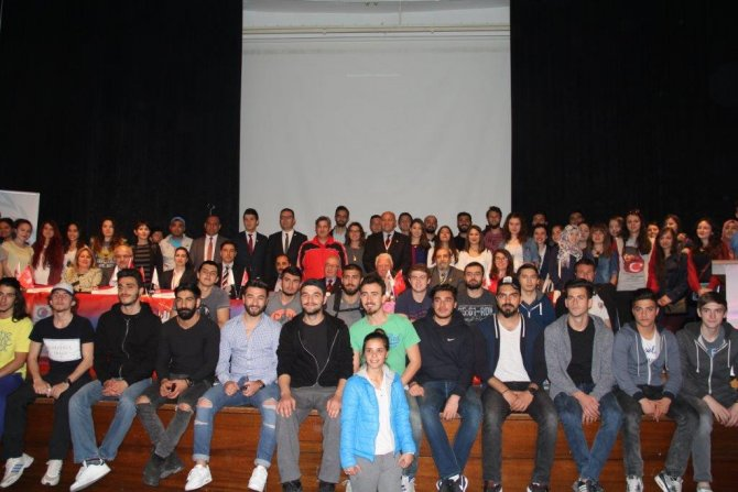TMOK Fair Play Kervanı 18 Mart Üniversitesi'ndeydi