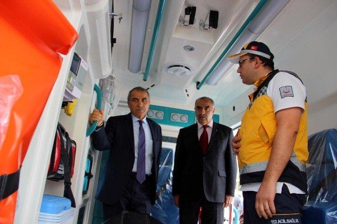 Yalova'ya 4 Yeni Ambulans