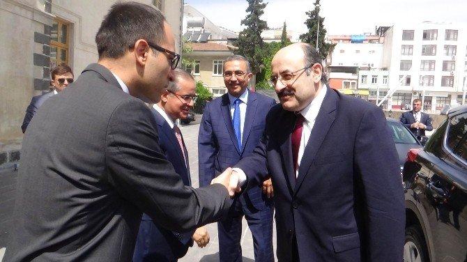 YÖK Başkanı Saraç, Kilis'te