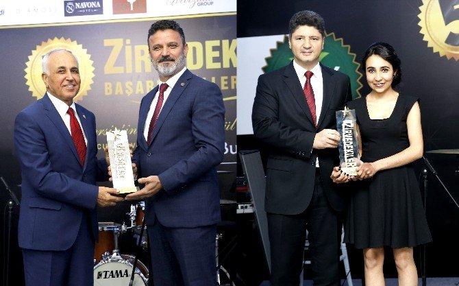 'Zirvedekiler 2016'da Mtosb'ye 3 Ödül