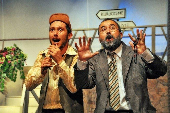 Adana Şehir Tiyatrosu'nda Polisler İçin Çifte Oyun
