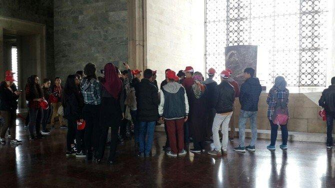 Adıyamanlı 171 Öğrenci Anıtkabir'i Gezdi