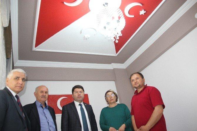 Milletvekili Yılmaz Tunç'tan Şehit Ailesine Ziyaret