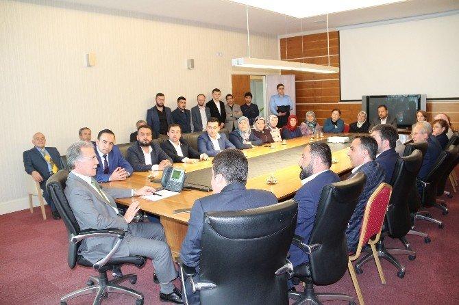 Safranbolu Teşkilatından Şahin'e Ziyaret