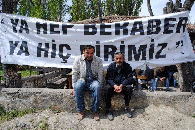 Amasyalı Madencilerin Eylemi 20 Gündür Sürüyor