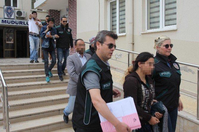 Bursa'da 3 Farklı Uyuşturucu Operasyonu: 6 Gözaltı