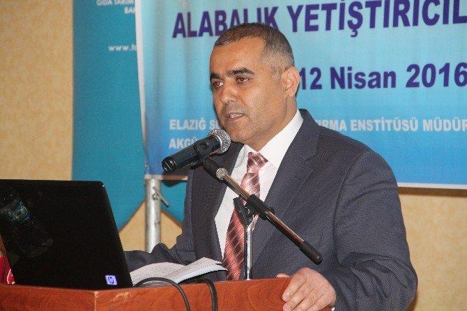 Elazığ'da Sürdürülebilir Alabalık Çalıştayı Düzenlendi