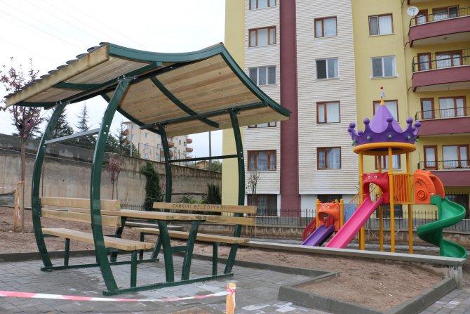 Çankırı'da 90 adet parka bir yenisi daha eklendi