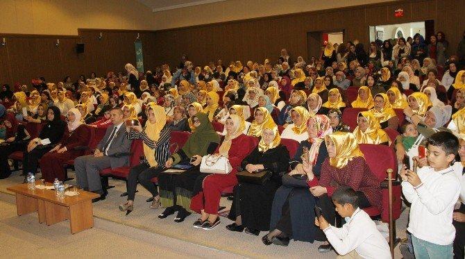 Didim İlçe Müftülüğünün Konferansına Bayanlardan Yoğun İlgi