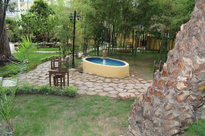 Efeler'de 'Saklı Bahçe' Hizmete Açılıyor