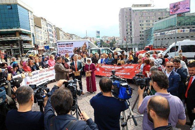 Gaziosmanpaşalı Kadınlardan Mehmetçiğe Moral