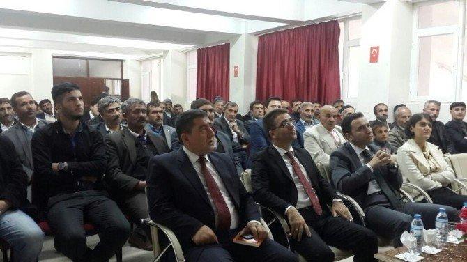 Hamur'da Konferans Verildi