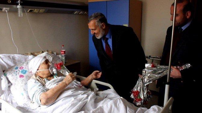 Müftülük Personelinden Hasta Ziyareti