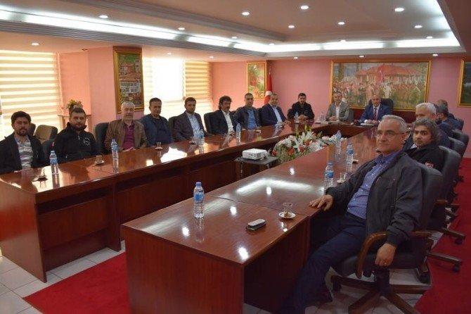İl Genel Meclis Başkanı Sözen'e Ziyaretçi Akını
