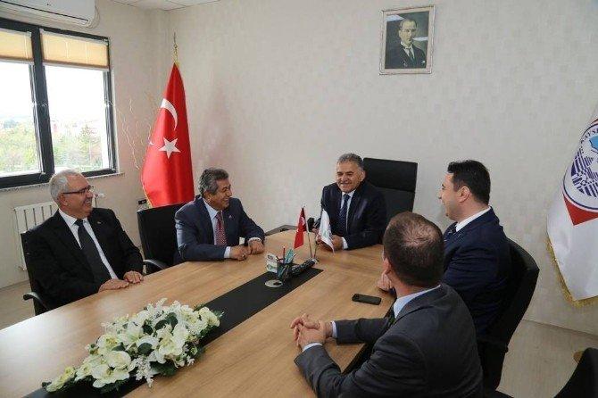 Ege Serbest Bölgesi Yatırımcıları Kayseri'de