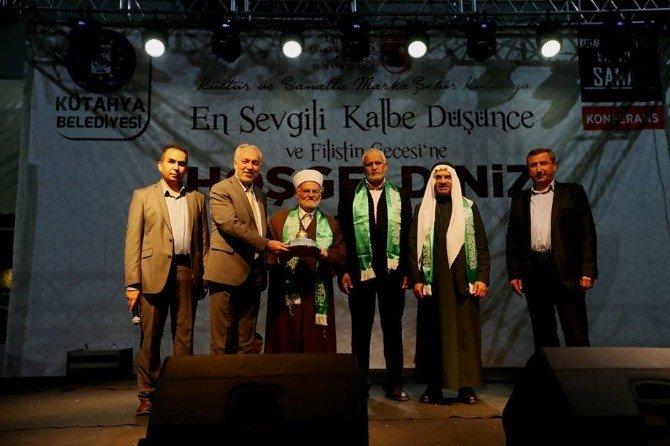 Kütahya'da 'En Sevgili Kalbe Düşünce Ve Filistin Gecesi'
