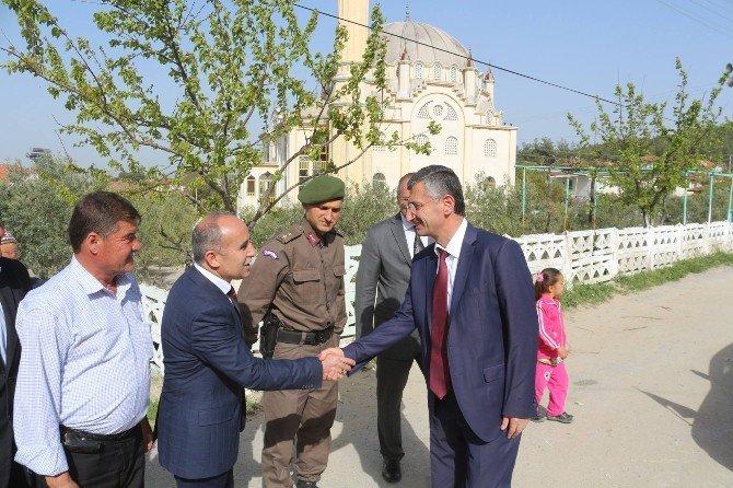Manisa Valisi Erdoğan Bektaş'tan Gördes Ziyareti
