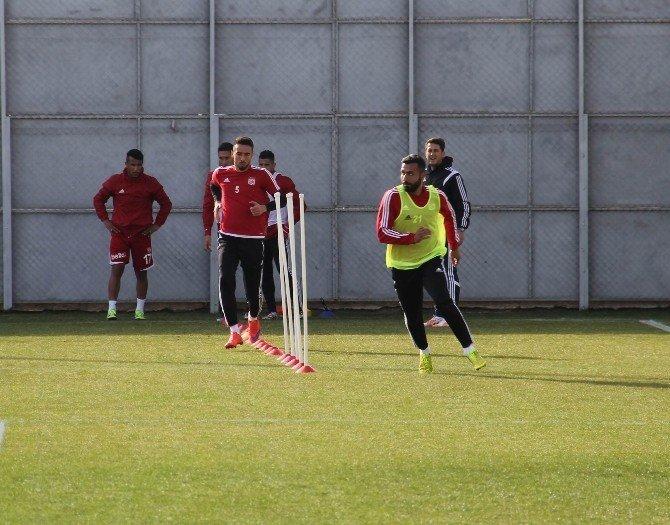 Medicana Sivasspor, Beşiktaş Maçı Hazırlıklarını Sürdürdü