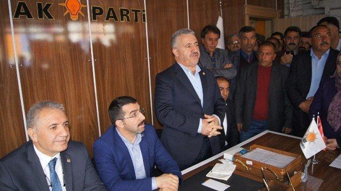 Milletvekili Arslan Ve Beyribey, İlçe Meclis Toplantısına Katıldı