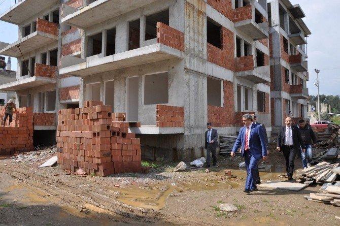 Nazilli'de Yeni Yol Yapımları Hızla Sürüyor